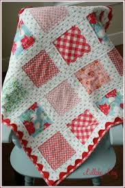 Very cute baby quilt idea--and I love the simplicity of the way ... & Very cute baby quilt idea--and I love the simplicity of the way she Adamdwight.com