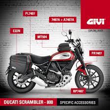 givi on twitter specific givi accessories for ducati scrambler