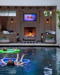 backyard pool bar. Amazing Outdoor Spaces By Top Designers. Backyard Ideas PoolBackyard Pool Bar