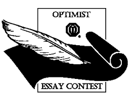 essaycontest gif the essay contest is sponsored by optimist international to give young people the opportunity to write about their own opinions regarding the world in which