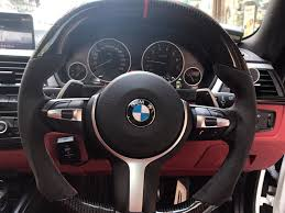 Coupe Series bmw m performance steering wheel : BMW M PERFORMANCE CARBON FIBER STEERING WHEEL – Yomato Carbon