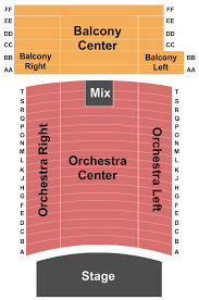 Fred Kavli Theatre Detailed Seating Chart Ticket Snatchers Holiday Concert Event Tickets