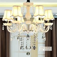 chandelier glass lamp shades classic pure white 6 heads rustic iron glass chandeliers light fabric lamp chandelier glass lamp shades
