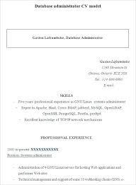 Entry Level Database Administrator Resume. Unix Admin Resume Entry ...
