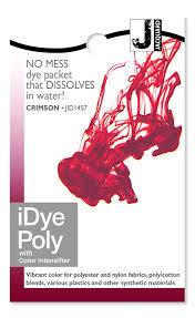 Idye Poly Color Mixing Chart Jacquard Idye 457 Idye Poly 14 Grams Crimson