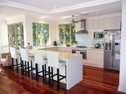 U Shaped Kitchen Designs With Island Cool Design Ideas