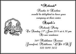 Mehendi Cards Card Wordings Mehndi Di Raat Invitation Invites On