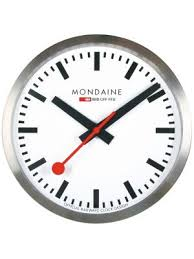 office clock wall. Office. Electric Mains Powered Large Wall Clock | A995.CLOCK.16SBB Office