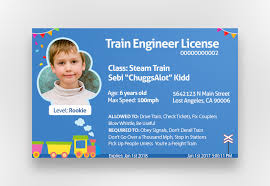 Freelancer Kids Id Train Card 12 Conductor For Ekinyalgn Entry Create By