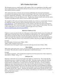 Apa Style Citation Guide Citation Apa Style