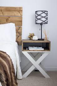 Diy Bedside Table Ideas Archives AllstateLogHomes Com