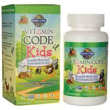 garden of lifevitamin code kids
