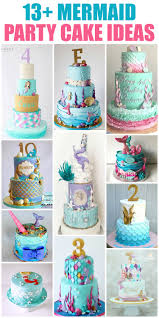 13 Mermaid Cakes Party Ideas Rose Bakes