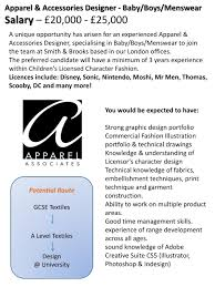 Apparel Design Salary Ppt Potential Route Gcse Hospitality Powerpoint