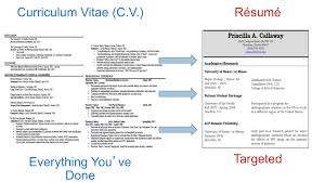 Difference Between Cv And Resume Examples Examples Of Resumes
