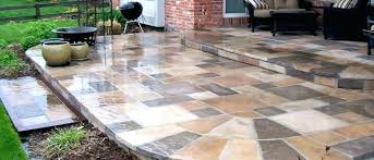extend patio with pavers fresh over concrete patio for installation with how to lay pavers for