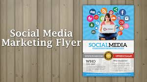 social media marketing flyer social media marketing flyer