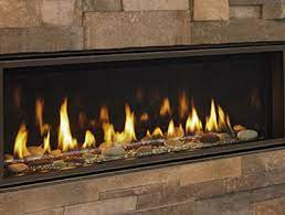 It may sound odd, but it is entirely accurate. Linear Contemporary Gas Fireplaces Majestic Products