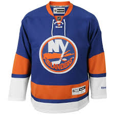 Islanders Reebok Home Premier York New Royal Jersey Men's