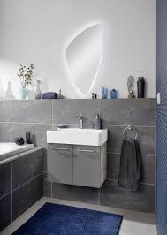 Fackelmann Lima Badezimmer Möbel Komplett Set In Der Farbe Graus