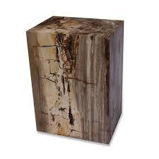 Zenporium Petrified Wood Square Stump PSS001 (2)