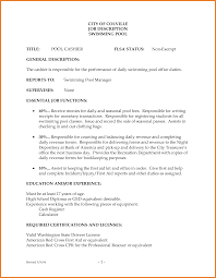 Resume Examples For Cashier Positions Resume Examples For Cashier