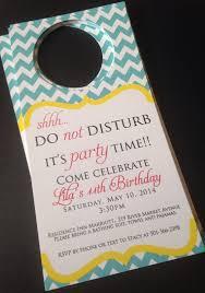 Birthday Hotel Door Hangers Hotel Door Hangers Birthday
