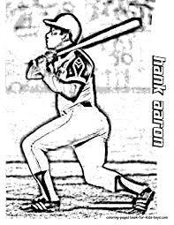 50 Hank Aaron Baseball Coloring At
