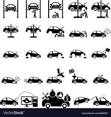 auto repair icon. Wonderful Repair Auto Repair Icons Vector Image In Repair Icon