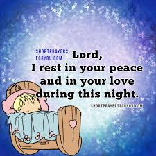 Good Night Prayer Quotes Mesmerizing Short Night Christian Prayer Short Prayers For You