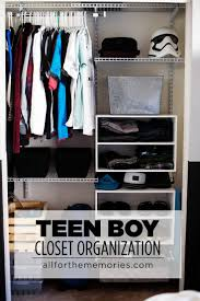 teen boy closet organization and the art of clothes roll with rubbermaid ad freeyourclutter ideas for teenage boys o67 closet