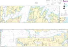Neuse River Depth Chart Oceangrafix Noaa Nautical Chart 11553 Intracoastal