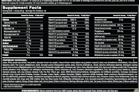 shakeology label