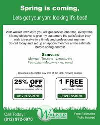 Lawn Care Flyer Template Word Lawn Care Flyer Template Word Resume Examples