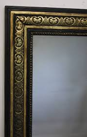 black antique picture frames. Black And Gold Framed Rectangular Mirror Within Antique Mirrors (Image 3 Of 15) Picture Frames