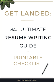 Tips To Writing A Resume Resume Tips The Ultimate Guide To Creating A Perfect Resume 22