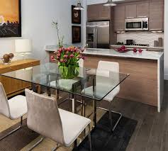 glass dining room table ideas. here are 20 stunning condo dining areas to inspire you glass room table ideas