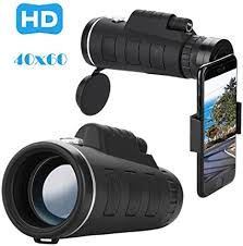 <b>Monocular</b> Telescope, WINKEY HD <b>40 x 60</b> Optical Zoom: Amazon ...