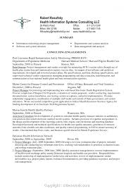 Healthcare Project Manager Resume It Manager Resume Objective