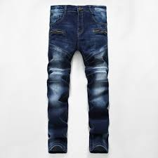 Compare Designer Jeans 2019 Men Distressed Ripped Jeans Fashion Designer Straight Motorcycle Biker Jeans Causal Denim Pants Streetwear Mens Jeans Cool From Superguys 48 23