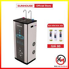 Hỗ trợ lắp đặt_ Máy lọc nước R.O nóng lạnh 10 lõi SUNHOUSE SHR76210CK