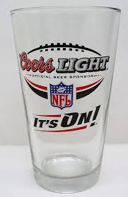 Coors Light Glass