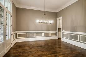wainscoting dining room. Perfect Dining Gray Dining Room With White Wainscoting View Full Size Inside O