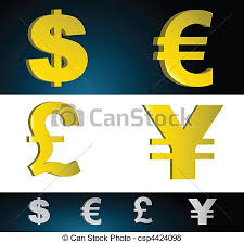 Money Symbols Money Currency Symbols Vector File Also Available