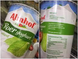Milde yoghurt gezond
