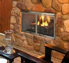 venting a gas fireplace to the outside that beautiful outside propane fireplace
