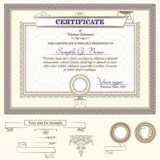 diploma certificate design template vector   large image 626x626px