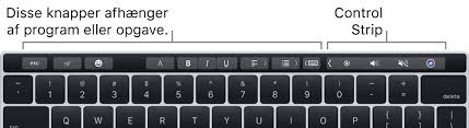 macbook tastatur knapper
