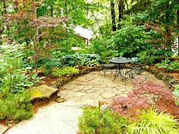 patio plants for shade delightful sunken patio surrounded by and other shade plants patio plants for