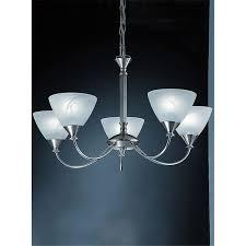 franklite pe9675 786 meridian 5 light ceiling pendant brushed nickel finish stollers